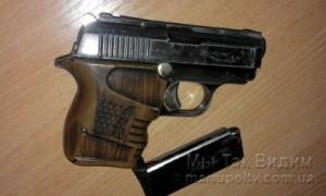 Мариуполь пистолет 14.12