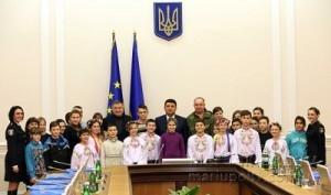 Дети в Киеве 16.01.17