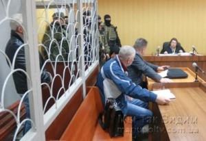 Арест подозреваемого в убийстве 13.04.17