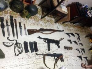 Мариуполь схрон зброї 26.04.18 1