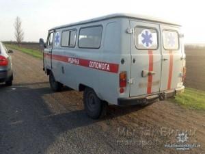 Волноваха угон скорой помощи 12.04.18 1