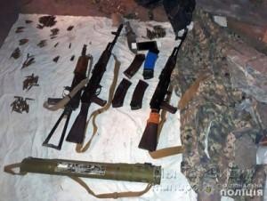 Мариуполь оружие боевика из Крыма 05.09.18 5