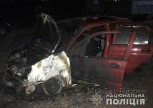 Маруиполь автомобиль поджог 11.09.18 2