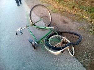 Мариуполь ДТП сбили велосипедиста 10.10.19 2